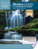 NIV(R) Standard Lesson Commentary(r) Large Print Edition 2017-2018