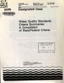 Designated Uses Book