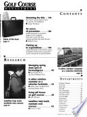 Golf Course Management  , Volume 66,Edições 1-5