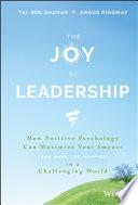The Joy of Leadership Book