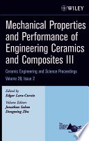 Mechanical Properties and Performance of Engineering Ceramics and Composites III