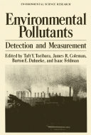 Environmental Pollutants