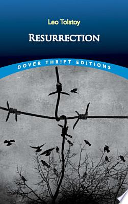 Book cover of 'Resurrection' by Leo Tolstoy