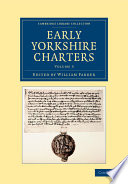 Early Yorkshire Charters: Volume 3 Read Online