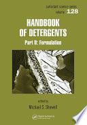 Handbook of Detergents   6 Volume Set