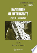 """Handbook of Detergents 6 Volume Set"" by Uri Zoller"