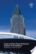 Linear and Non linear Numerical Analysis of Foundations Book