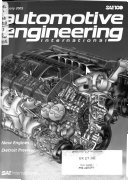 Automotive Engineering International Book