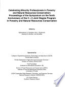 Celebrating Minority Professionals in Forestry and Natural Resources Conservation Book