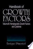Handbook of Growth Factors