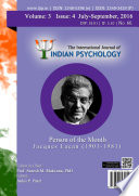 The International Journal Of Indian Psychology Volume 3 Issue 4 No 66