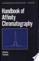 Handbook of Affinity Chromatography Book