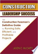 Construction Leadership Success