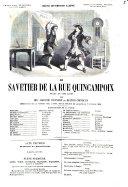Le savetier de la rue Quincampoix drame en cinq actes par Adolphe d'Ennery et Hector Crémieux