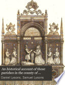 An Historical Account of Those Parishes in the County of Middlesex Book
