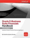 Oracle E Business Suite Financials Handbook 3 E