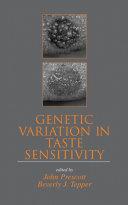 Genetic Variation in Taste Sensitivity [Pdf/ePub] eBook