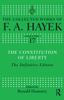 The Constitution of Liberty Pdf/ePub eBook