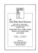 The John Willy Hotel Directory