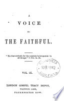 A Voice To The Faithful
