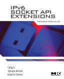 IPv6 Socket API Extensions  Programmer s Guide