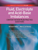 Fluid, Electrolyte, and Acid-Base Imbalances: Content Review Plus ...