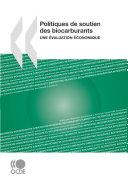 Pdf Politiques de soutien des biocarburants : une évaluation économique Telecharger