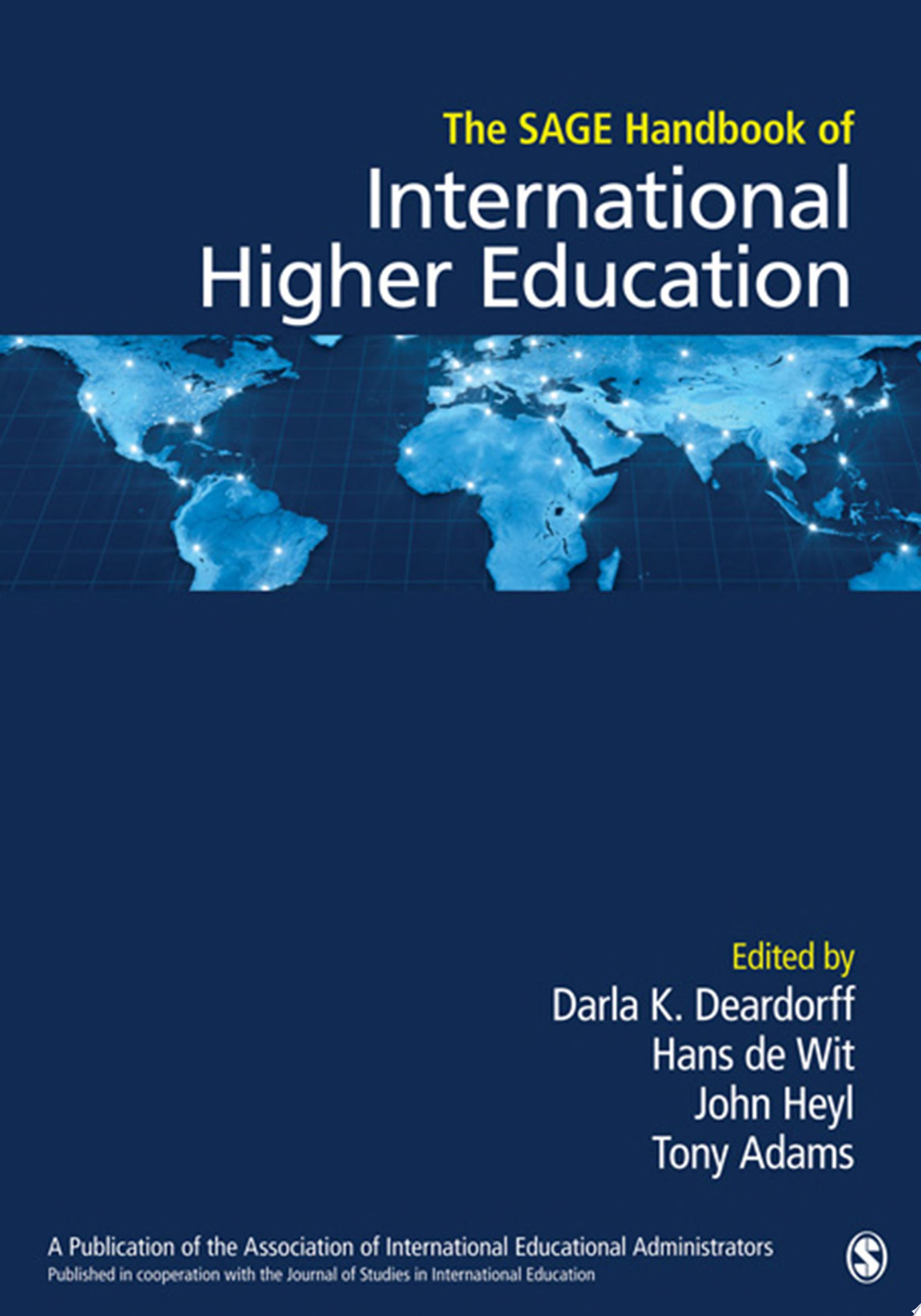 The SAGE Handbook of International Higher Education