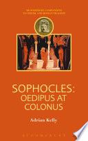 Sophocles  Oedipus at Colonus Book