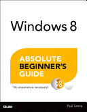 Windows 8 Absolute Beginner's Guide Pdf/ePub eBook