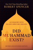 Did Muhammad Exist  Book