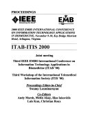 Proceedings of the IEEE Engineering in Medicine and Biology Society  Region 8 International Conference