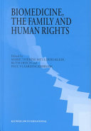 Biomedicine, the Family, and Human Rights ebook