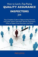 How to Land a Top Paying Quality Assurance Inspectors Job