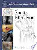 Master Techniques in Orthopaedic Surgery  Sports Medicine Book