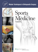 Master Techniques in Orthopaedic Surgery  Sports Medicine