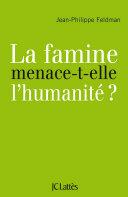 Pdf La famine menace-t-elle l'humanité? Telecharger