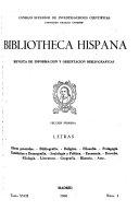 Bibliotheca Hispana Revista De Informaci N Y Orientaci N Bibliogr Ficas Secci N 1