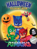 PJ Masks Halloween Coloring Book