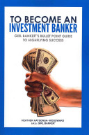 Cover of To Become an Investment Banker