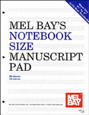 Notebook Size Manuscript Pad 12 Stave
