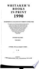Whitaker's Books in Print