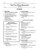 The Task Force Quarterly