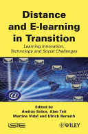 Distance and E learning in Transition