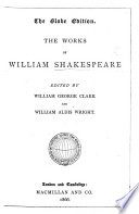 The Globe Edition  The Works of William Shakespeare  Edited by W  G  Clark and W  Aldis Wright Book PDF