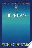 Abingdon New Testament Commentaries Hebrews