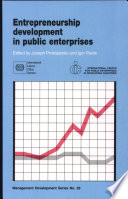 Entrepreneurship Development in Public Enterprises