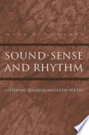 Sound  Sense  and Rhythm