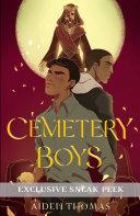 Cemetery Boys Sneak Peek Book