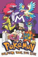 Pok  mon Coloring Book for Kids Vol  8